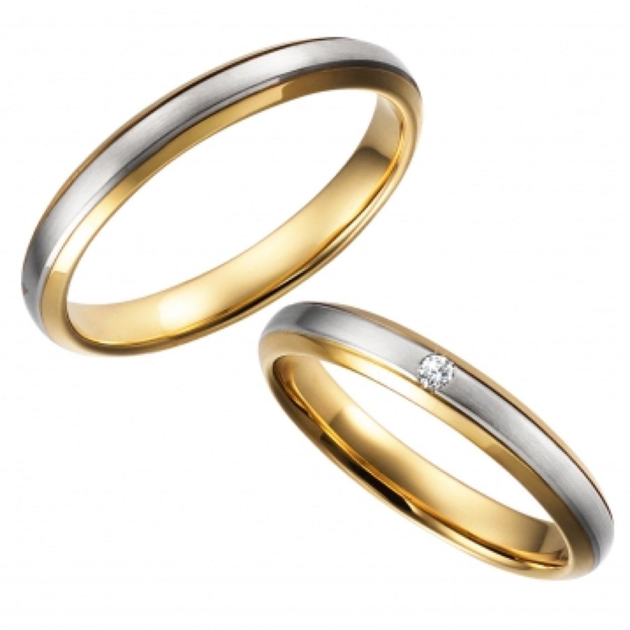 〈結婚指輪〉combination
