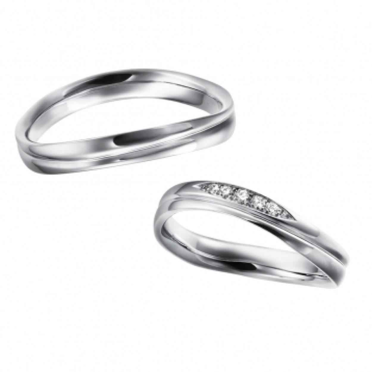 〈結婚指輪〉Wave