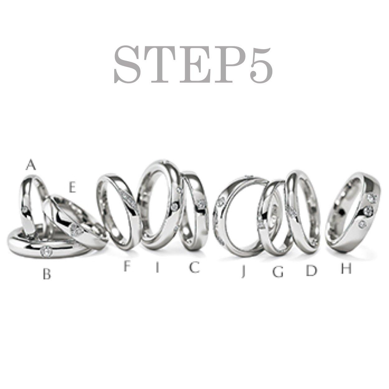 〈STEP5〉DIAMOND SETTING